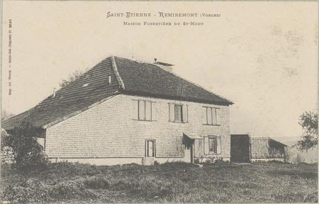 Saint-Etienne - Remiremont (Vosges), Maison forestière du St-Mont