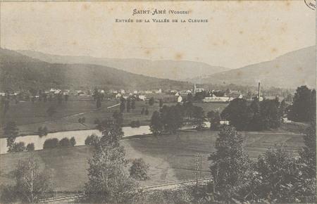Saint-Amé (Vosges), Entrée de la vallée de la Cleurie