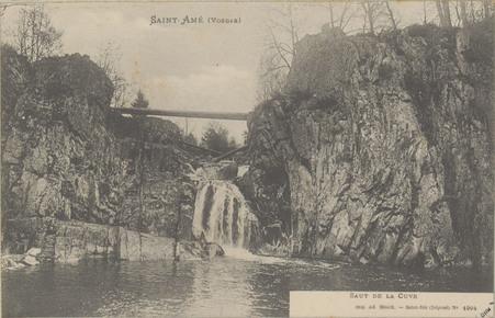 Saint-Amé (Vosges), Saut de la Cuve