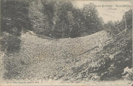 Saint-Etienne - Remiremont (Vosges), Le Pont des Fées