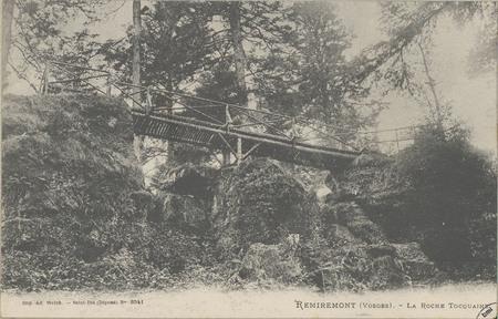 Remiremont (Vosges), La Roche Tocquaine