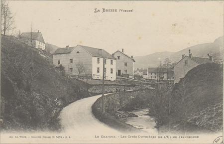 La Bresse (Vosges), Le Chajoux, Les Cités ouvrières de l'usine Jeangeorge