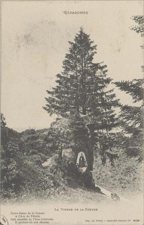 Gérardmer, La Vierge de la Creuse