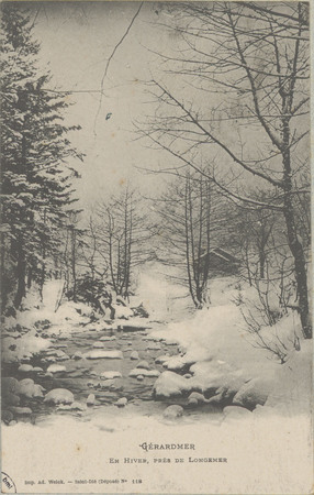 Gérardmer, En hiver près de Longemer
