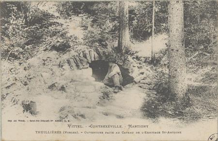Vittel - Contrexéville - Martigny, Thuillières (Vosges), Ouverture faite a…