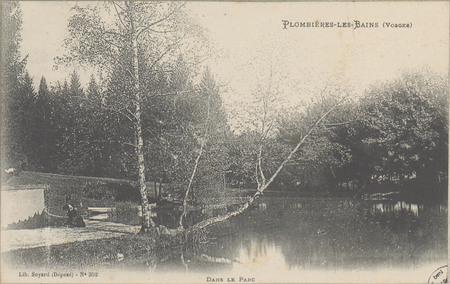 Plombières-les-Bains (Vosges), Dans le parc