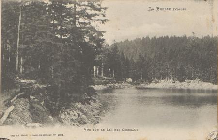 La Bresse (Vosges), Vue sur le lac des Corbeaux