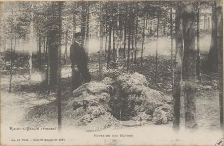 Raon-l'Etape (Vosges), Fontaine des Maçons