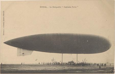 """Épinal, Le Dirigeable """"Capitaine Ferber"""""""