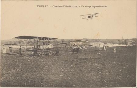 Épinal, Centre d'aviation, Un Virage impressionnant