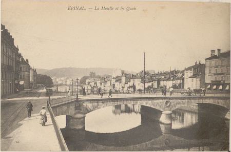 Épinal, La Moselle et les quais
