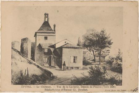 Épinal, Le Château, Vue de la laiterie. […]