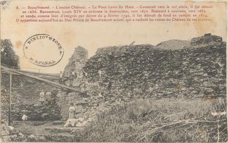 Beaufremont, L'Ancien Château […]