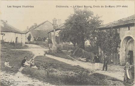 Châtenois, Le Haut bourg, Croix de St-Marc