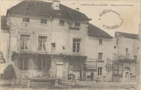 Châtillon-sur-Saone, Maison du Gouverneur