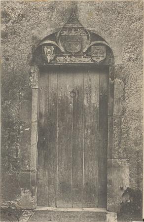 Porte de la maison natale de Jeanne d'Arc