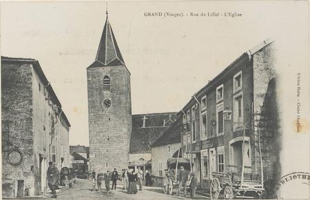 Grand (Vosges), Rue de Liffol, L'Église