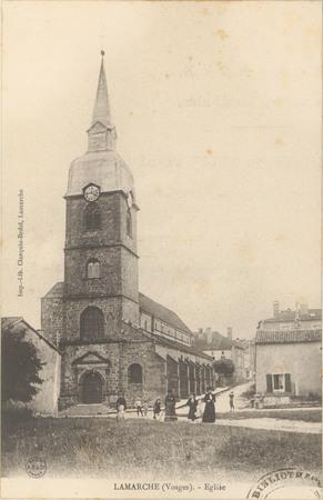 Lamarche (Vosges), Église