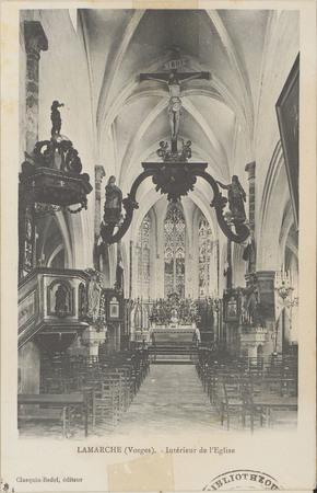 Lamarche (Vosges), Intérieur de l'Église