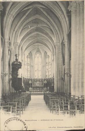 NeufChâteau, Intérieur de St-NiColas