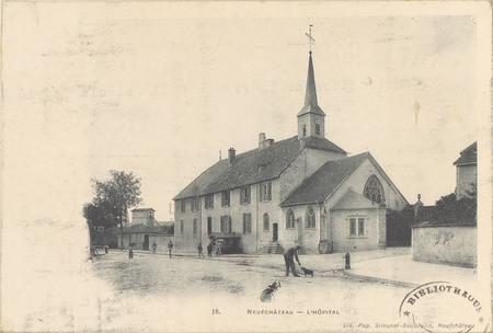 NeufChâteau, L'Hôpital