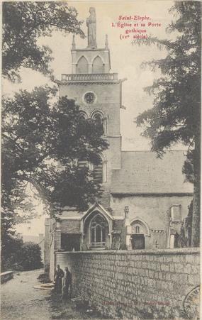 Saint-Elophe, L'Église et sa porte gothique