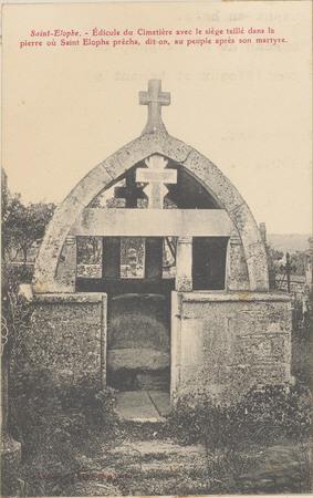 Saint-Elophe, Edicule du cimetière […]