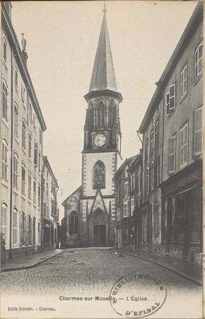 Charmes-sur-Moselle, L'Église