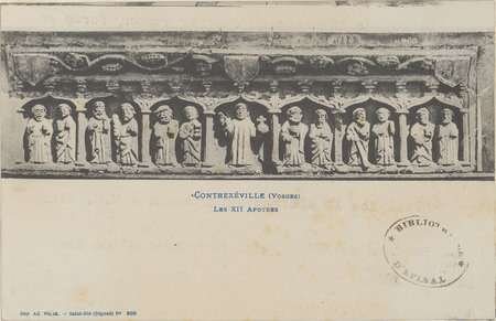 Contrexéville (Vosges], Les XII apôtres