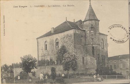 Darney, Le Château, La Mairie