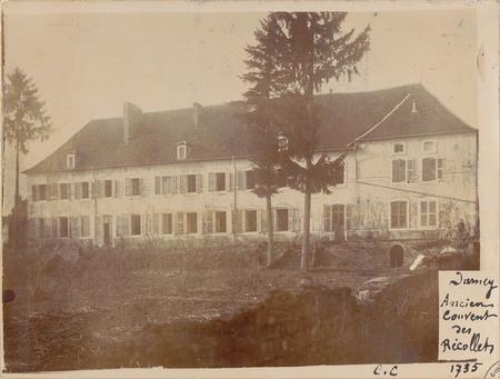 Darney, Ancien couvent des Récollets