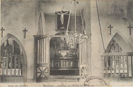 Mirecourt, Intérieur de l'Église du Faubourg