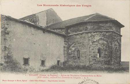 Xugney, Église de l'ancienne commanderie de Malte […]