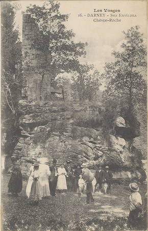 Darney, Ses environs, Chèvre-Roche