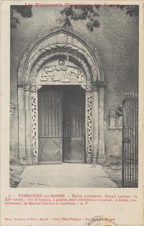Vomécourt-sur-Madon, Église paroissiale […]