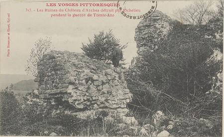 Les Ruines du Château d'Arches […]