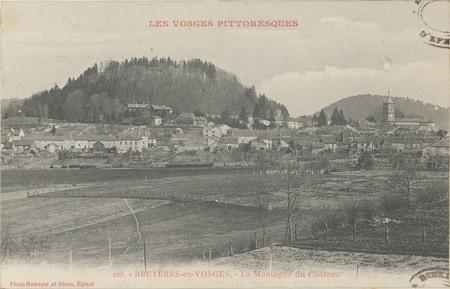 Bruyères-en-Vosges, La Montagne du Château