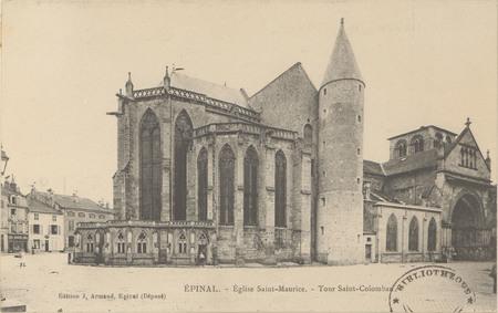 Épinal, Église Saint-Maurice, Tour Saint-Colombaux