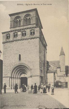 Épinal, Église Saint-Maurice, La Tour Carrée