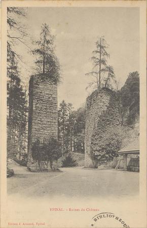 Épinal, Ruines du Château