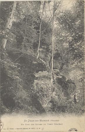 Saint-Jean-du-Marché (Vosges), Un Coin des ruines du vieux Château
