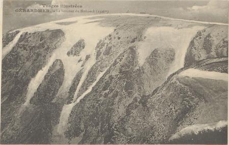 Gérardmer, Le Sommet du Hohneck (1326 m)