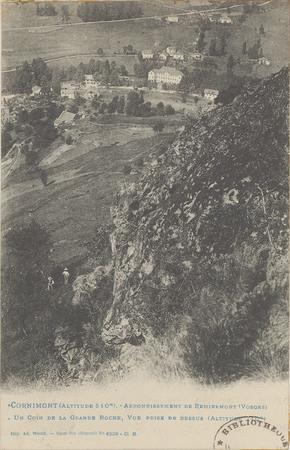 Cornimont, […] Un Coin de la Grande roche […]