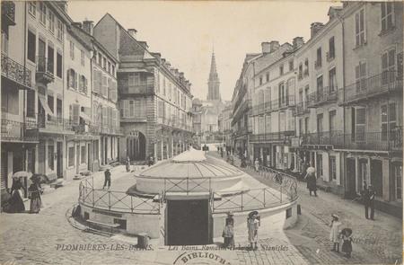 Plombières-les-Bains, Les Bains romains et la rue Stanislas