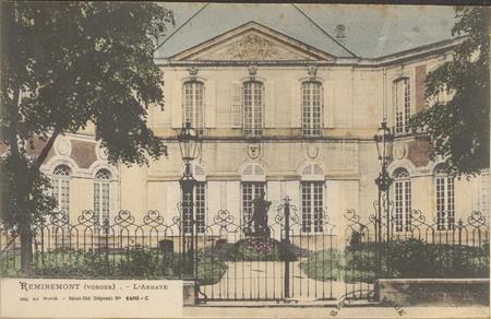 Remiremont (Vosges), L'Abbaye