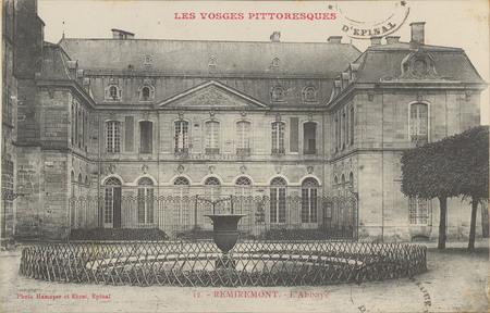 Remiremont, L'Abbaye