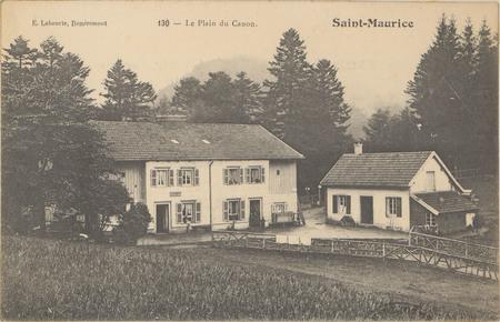 Saint-Maurice, Le Plain du Canon
