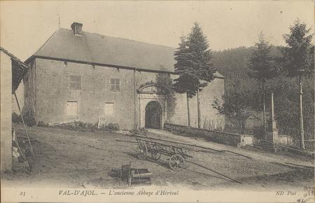 Val d'Ajol, L'Ancienne Abbaye d'Hérival