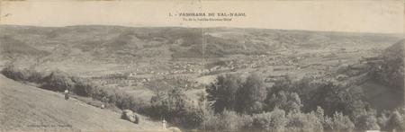Panorama du Val d'Ajol, Vu de la Feuillée-Dorothée-Hôtel