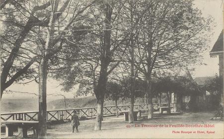 Terrasses et voûtes de la Feuillée-Dorothée-Hôtel